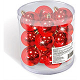 Набор елочных шаров B&H 12 шт, 3 см., красные