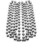 Буcы-шарики на ёлку B&H 2,7 м., серебро