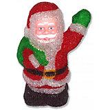"""Светодиодная фигура GLOS """"Дед Мороз"""", 28 см"""