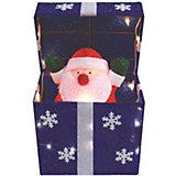 Двигающаяся фигура под ёлку B&H «Подарок с Дедом Морозом»