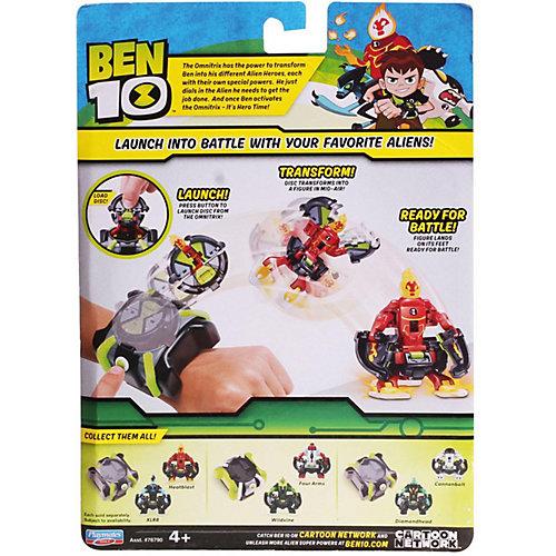 Игровой набор Playmates Ben 10 «Омнизапуск, Человек-огонь и Молния»