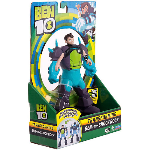 Фигурка-трансформер Playmates Ben 10 «Бен - Шок Рок» от PLAYMATES