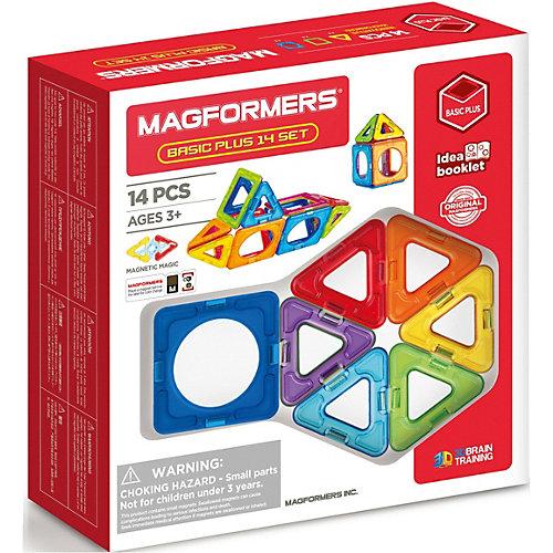 Магнитный конструктор MAGFORMERS Basic Plus 14 set от MAGFORMERS