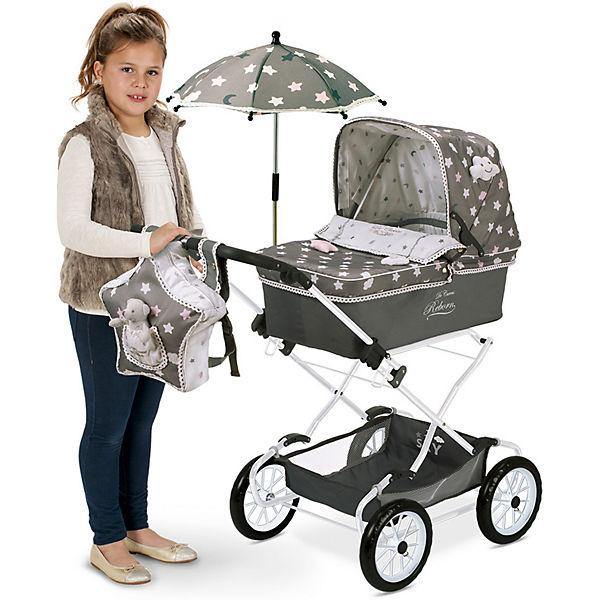 """Коляска для кукол DeCuevas """"Скай"""" с рюкзаком и зонтиком, 90 см"""