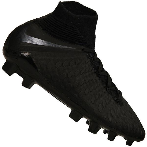 sports shoes 41dd1 1dd6a Nike Fußballschuhe Jr Hypervenom Phantom III Elite DF FG mit Schuhkragen  AJ3791-107 Sportschuhe