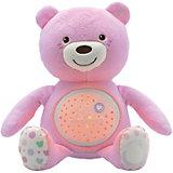 """Музыкальная игрушка-проектор Chicco """"Мишка"""", розовый"""