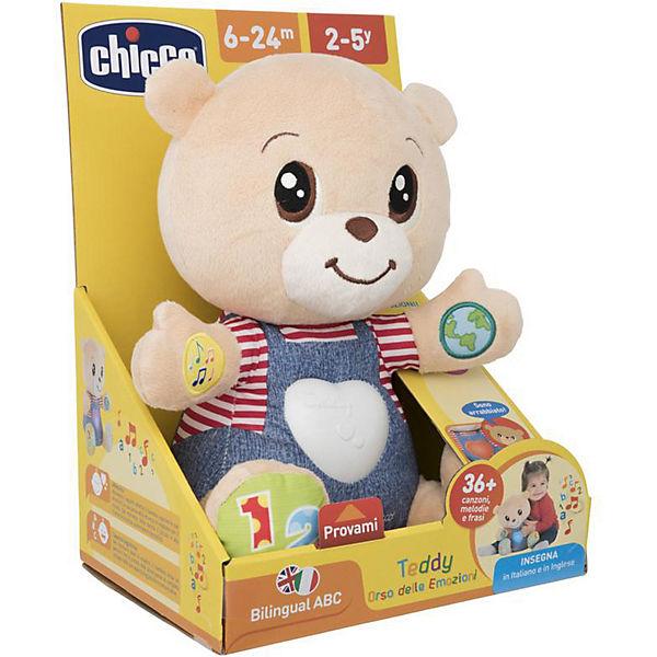 """Говорящий мишка Chicco """"Teddy Emotion"""""""