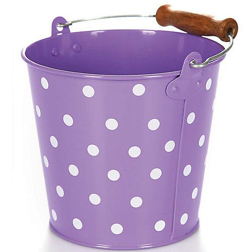 Ведро Egmont Toys Горох, фиолетовое