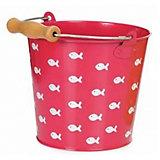 Ведро Egmont Toys Рыбки, розовое