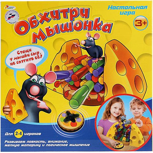 Настольная игра Играем вместе Обхитри мышонка от Играем вместе