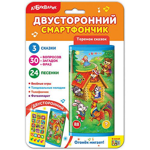 "Двусторонний смартфончик Азбукварик ""Теремок сказок"" от Азбукварик"