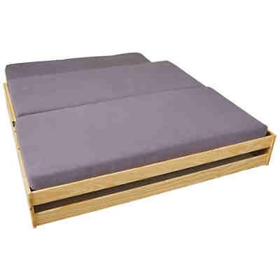 sofabett mit auszug emmi wei wellem bel mytoys. Black Bedroom Furniture Sets. Home Design Ideas