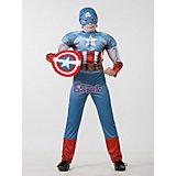 "Карнавальный костюм Батик ""Капитан Америка. Мстители"""