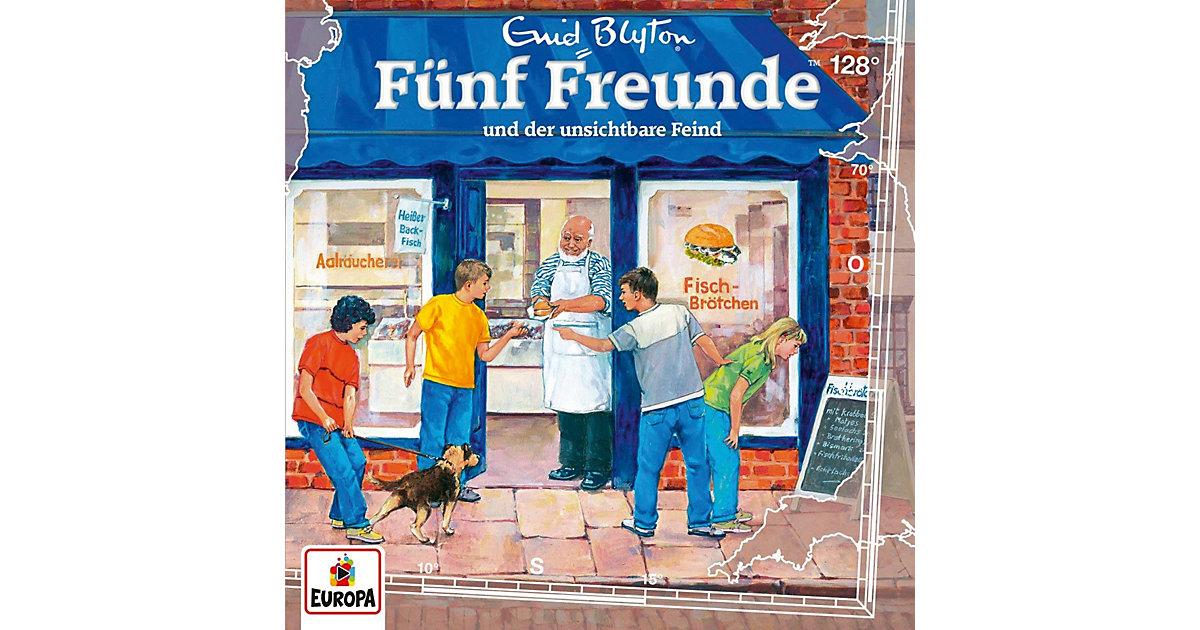 CD Fünf Freunde 128 - und der unsichtbare Feind Hörbuch