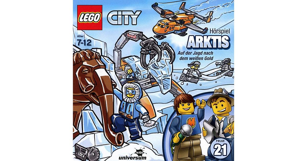 CD LEGO City 21 - Arktis Hörbuch