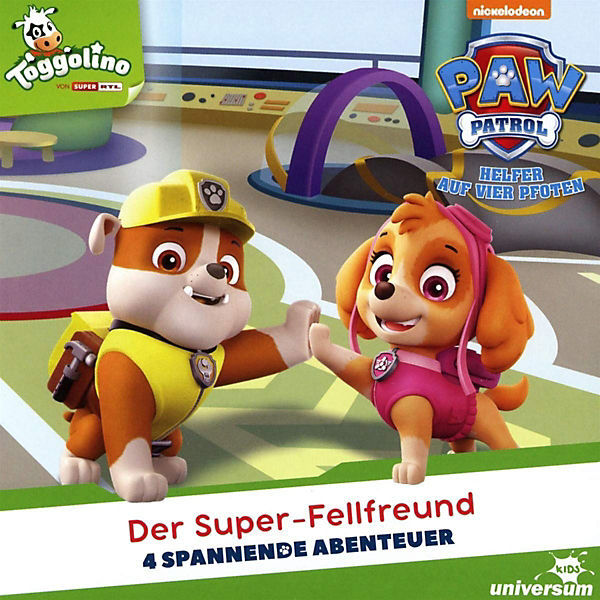 CD Paw Patrol 10 - Der Super-Fellfreund