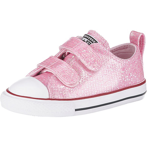 8137e731f21f4 Baby Sneakers Low CTAS 2V OX PINK FOAM ENAMEL RED WHITE für Mädchen ...