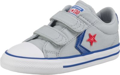 Baby Sneakers Low STAR PLAYER 2V OX WOLF GREYBLUE für Jungen, CONVERSE