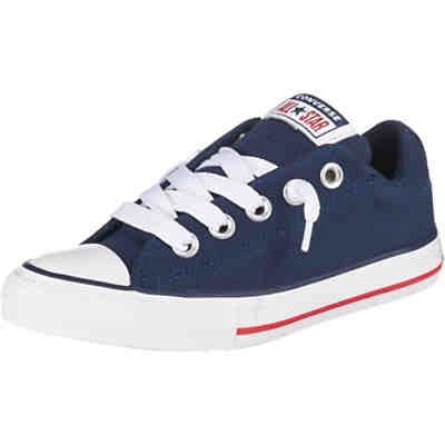a7dcb5f4bcb Kinder Sneakers Low CTAS STREET SLIP NAVY WHITE GARNET ...