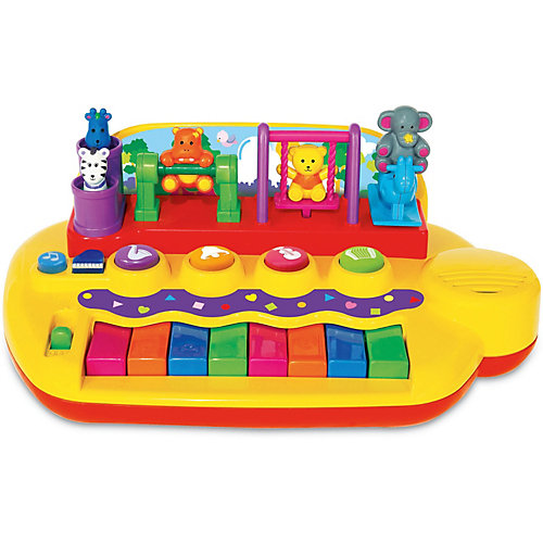 "Развивающая игрушка ""Пианино с животными на качелях"" Kiddieland от Kiddieland"
