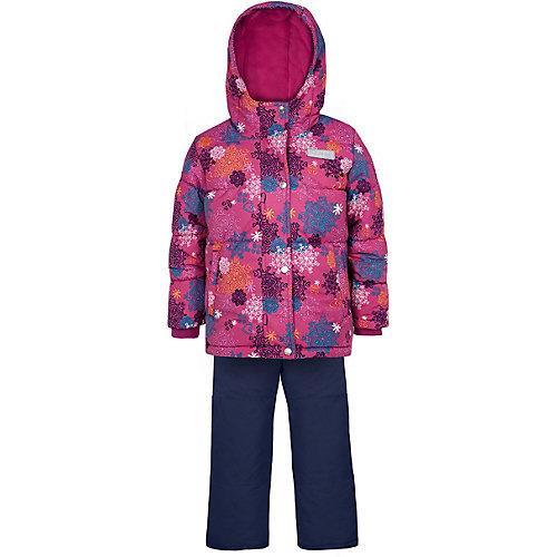 Комплект Salve: утепленная куртка и полукомбинезон - розовый от Salve