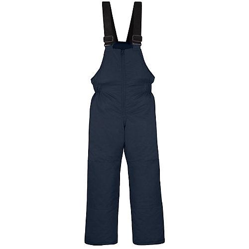 Комплект Salve: утепленная куртка и полукомбинезон - синий/оранжевый от Salve
