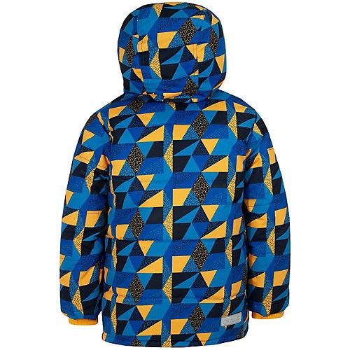 Комплект Salve: утепленная куртка и полукомбинезон - сине-жёлтый от Salve