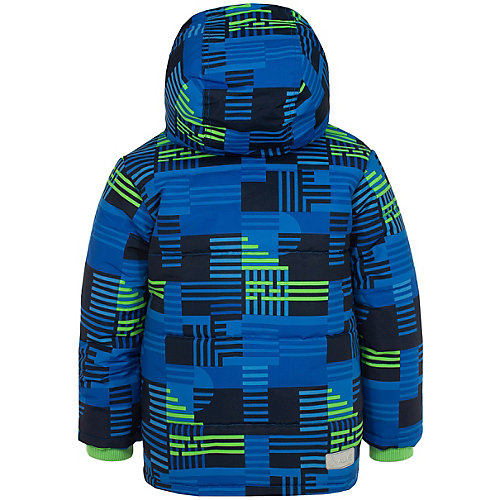 Комплект Salve: утепленная куртка и полукомбинезон - голубой/зеленый от Salve