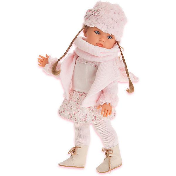 Кукла Juan Antonio Munecas Белла с шарфиком, 45 см
