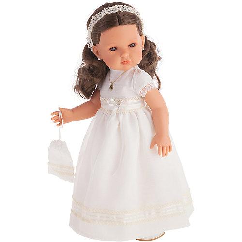 Кукла Juan Antonio Munecas Белла Первое причастие, брюнетка в кремовом платье, 45 см от Munecas Antonio Juan