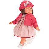 Кукла Juan Antonio Munecas Аделина в красном, 55 см
