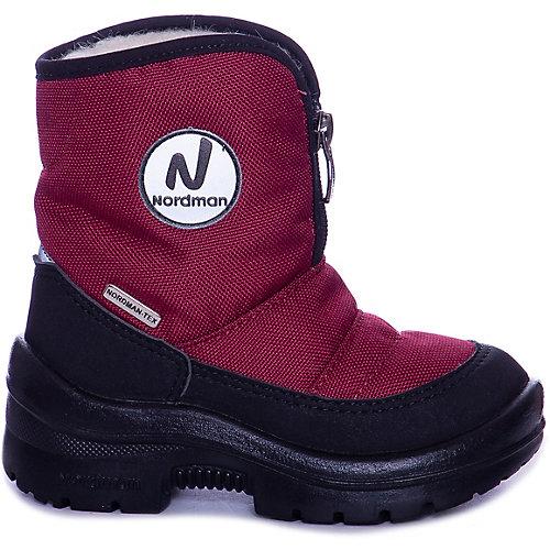 Утепленные сапоги Nordman Next - бордовый от Nordman