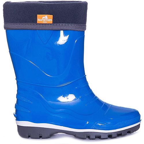 Резиновые сапоги со съемным носком Nordman Step - голубой от Nordman