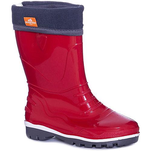 Резиновые сапоги со съемным носком Nordman Step - красный от Nordman