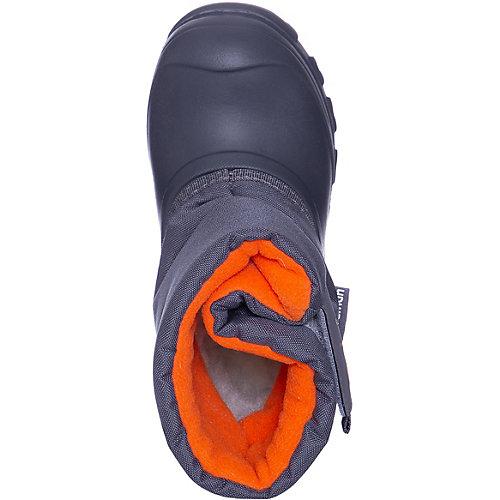 Сноубутсы Joy Nordman - серый/оранжевый от Nordman