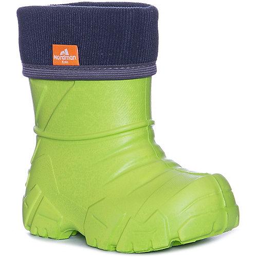 Резиновые сапоги Nordman Kids - светло-зеленый от Nordman