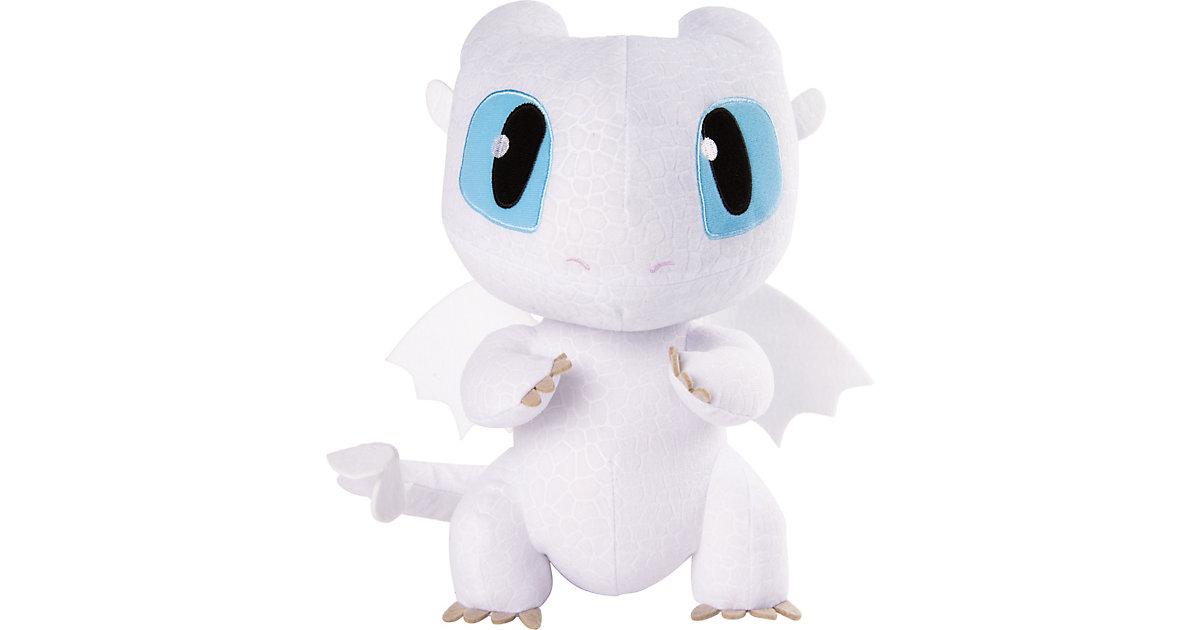 Dragons - Movie Line - Squeeze & Growl, Plüschfigur mit Sound - Tagschatten (Solid), Drachenzähmen leicht gemacht 3, Die geheime Welt