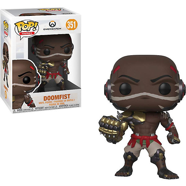 Funko POP!  Games: Overwatch S4 - Doomfist, Funko POP!
