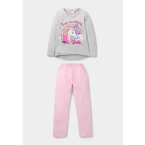Barbie Schlafanzug Gr. 128 Mädchen Kleinkinder | 04060617003197