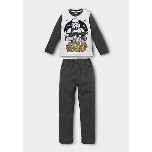 Star Wars Schlafanzug Gr. 128 Jungen Kleinkinder | 04060617018702