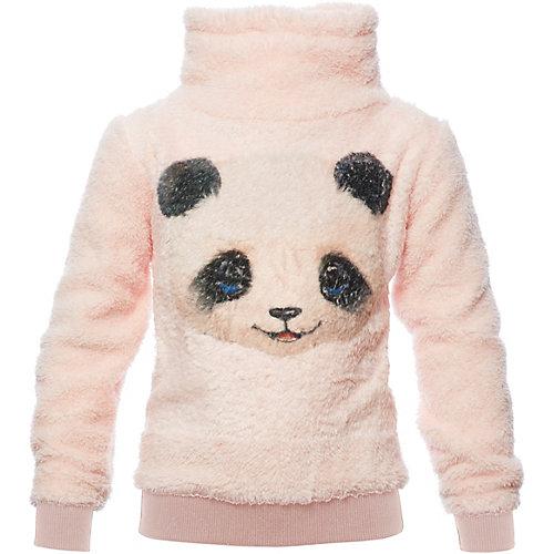 REVIEW for Kids Sweatshirt mit Schalkragen , Panda Gr. 104 Mädchen Kleinkinder | 04061449313805