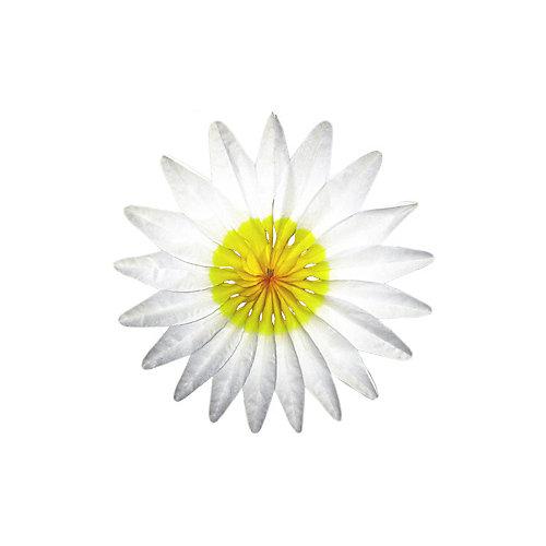 """Бумажное украшение Патибум """"Цветок"""" 50 см, белый - разноцветный от Патибум"""