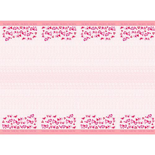 """Скатерть Патибум """"Сердечки I love you"""", 140х180 см - разноцветный от Патибум"""