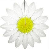 """Бумажное украшение Патибум """"Цветок"""" 36 см, белый"""