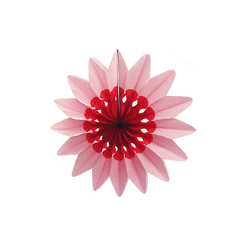 """Бумажное украшение Патибум """"Цветок"""" 50 см, розовый - разноцветный от Патибум"""