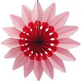 """Бумажное украшение Патибум """"Цветок"""" 50 см, розовый"""
