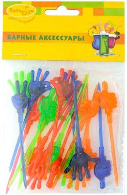 "Шпажки для канапе Патибум ""Руки"", 20 шт"