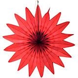 """Бумажное украшение Патибум """"Цветок"""" 50 см, красный"""