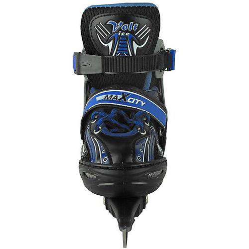 Набор раздвижных коньков МаxCity Volt Ice - синий от MaxCity