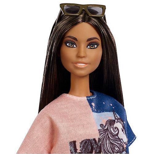 """Кукла Barbie """"Игра с модой"""" в сине-розовом платье, 29 см от Mattel"""